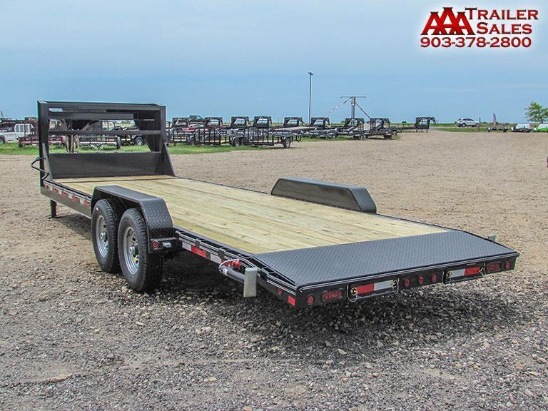 "2018 Gooseneck Car Hauler / Equipment Trailer 83""x24' GVWR 15680"