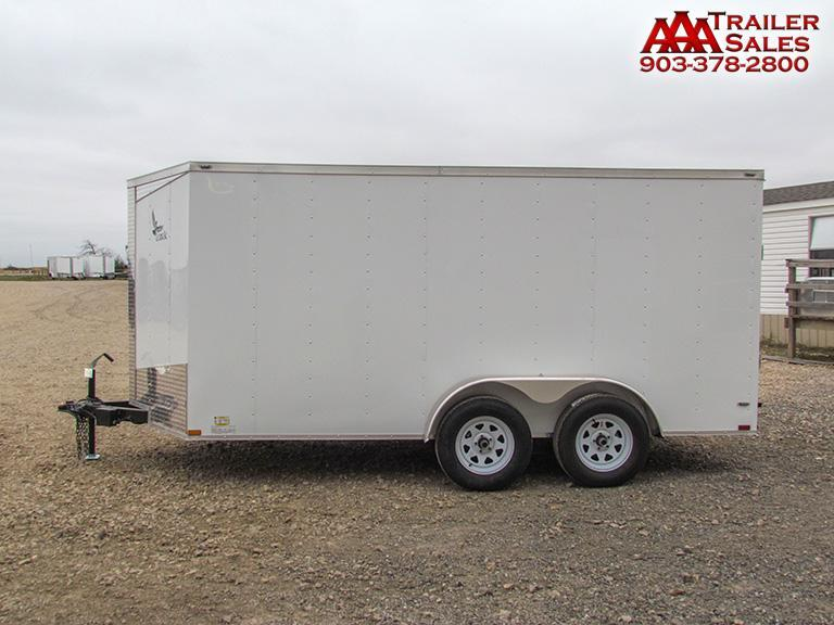 2018 Lark V Nose 7'x14' Enclosed Trailer