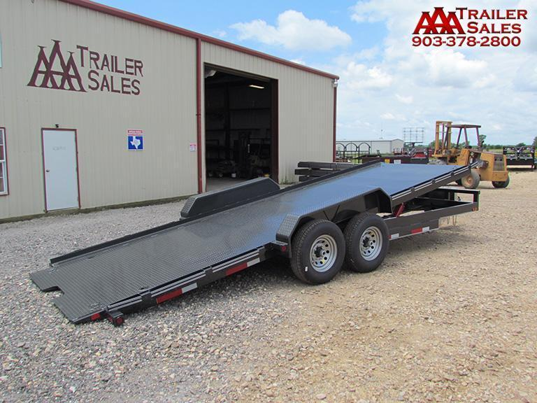 2018 East Texas tilt deck trailer