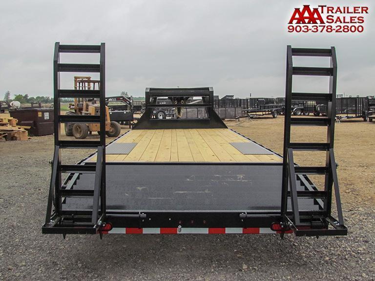 "2018 LAMAR Gooseneck Deck Over 102""x24' GVWR 14000"