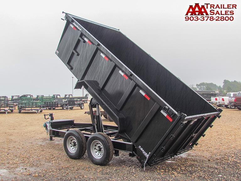 """2018 LAMAR 83""""X14' Low Pro Dump Trailer GVWR 14000"""