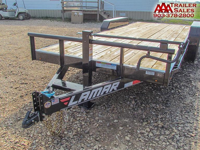 "2018 LAMAR Equipment Trailer 83""x20' GVWR 14000"