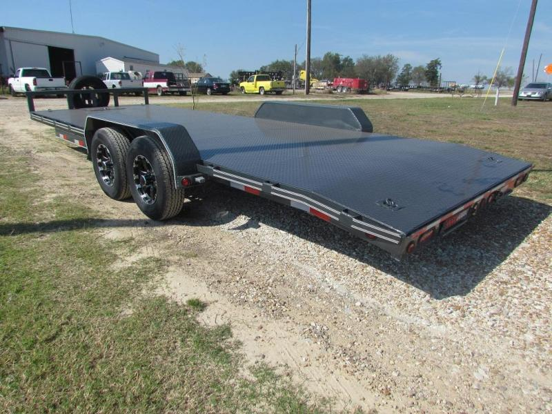 2017 car hauler racing trailer 83 x22 gvwr 12000 aaa trailer