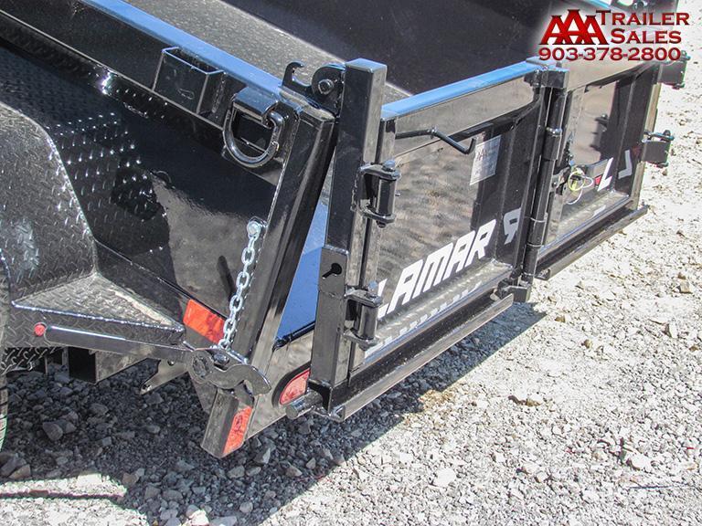 "2018 LAMAR Dump Trailer 60""x10' GVWR 7000"