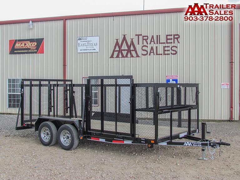 2017 East Texas landscape trailer
