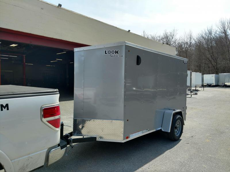 Trailers And Hitches >> 5x8 Look Trailers Enclosed Cargo Trailer 3k The Hitch Man