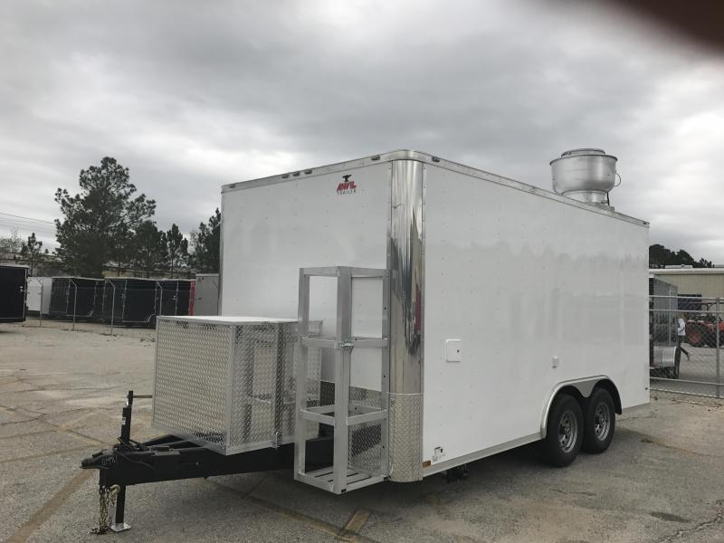 2017 Anvil 8.5X16 Vending / Concession Trailer