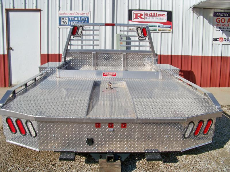 """Zimmerman aluminum 97""""x102"""" town country Truck Bed"""