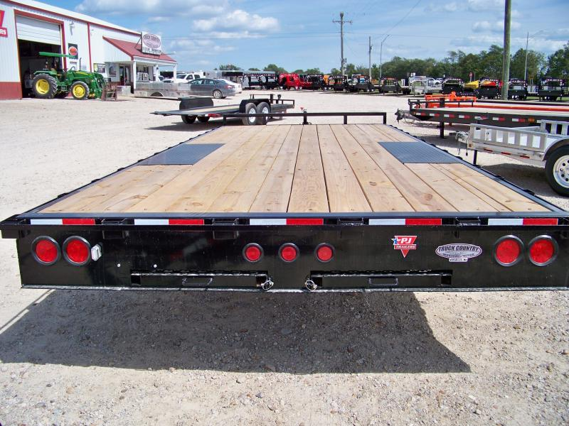 2018_PJ_Trailers_L6_20_deckover_Equipment_Trailer_UsQqhs 2018 pj trailers l6 20' deckover equipment trailer trailer eager beaver trailer wiring diagram at bakdesigns.co