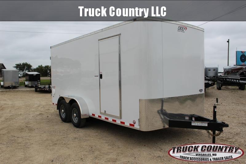 Cargo Trailer Accessories >> 2019 Bravo Scout 7 X16 Enclosed Cargo Trailer Trailer Truck