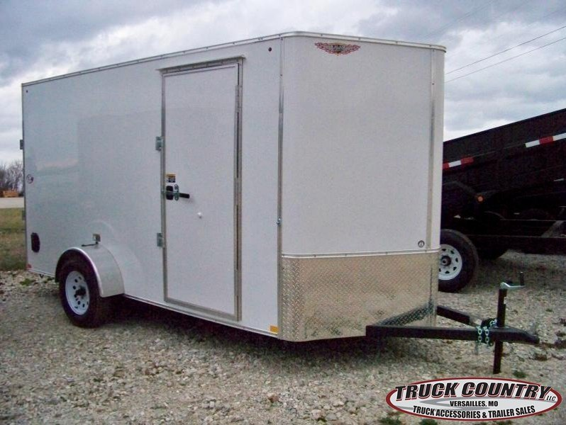inventory trailer truck accessories dealer in versailles mo 2017 h h trailer 6 x12 ca enclosed cargo trailer