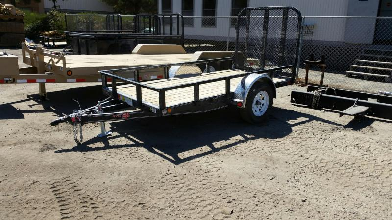 2017 PJ Single Axle 5X10 Utility Trailer