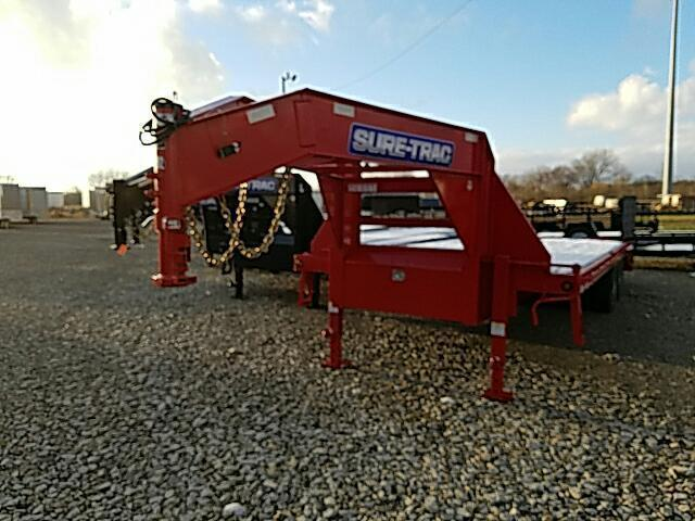 2015 Sure-Trac Gooseneck Deckover Equipment Trailer