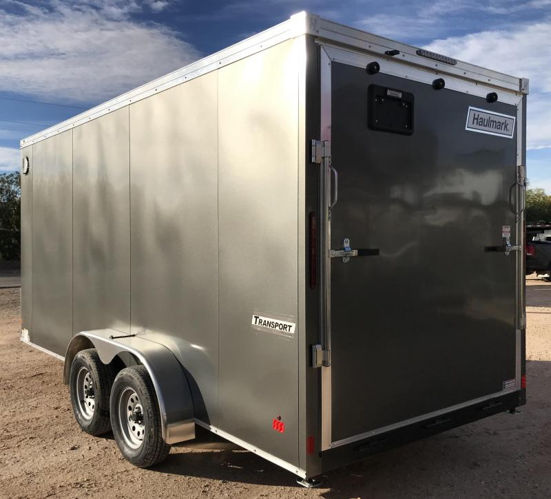 2019 Haulmark TSV Transport 7x16 UTV Package Enclosed Cargo Trailer