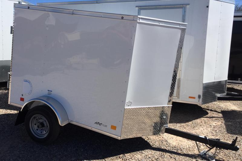 current inventory 2018 continental cargo 4x6 ehw enclosed cargo trailer