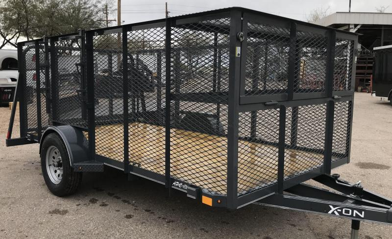 2019 X-On 77x12 S/A Utility Landscape Trailer