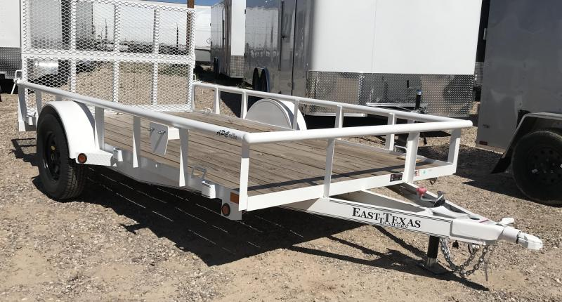 2018 East Texas 77x12 S/A Utility Trailer