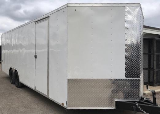2018 Cargo Express 102x24 XLW 7k Enclosed Cargo Trailer