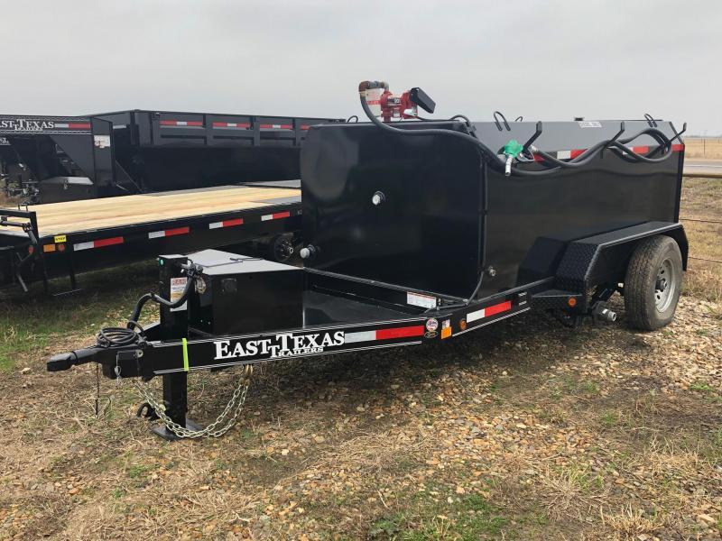 2018 East Texas 5x10 12k 990 Diesel Double Wall Fuel Tank Utility Trailer