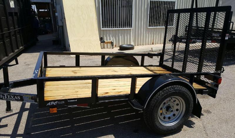 2017 East Texas 5x10 S/A Utility Trailer