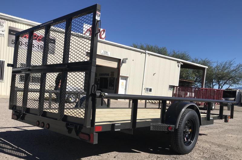 2018 East Texas 77x14 S/A Premium Utility Trailer