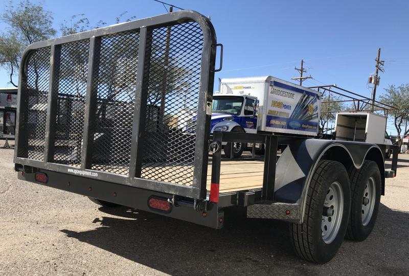 2018 X-On 77x12 T/A Utility Trailer