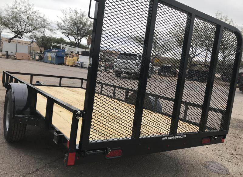 2019 X-On 77x14 S/A Utility Trailer