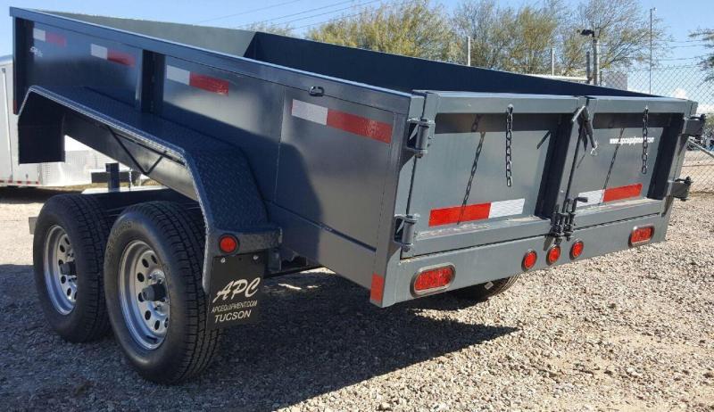 2017 East Texas 5x10 7k Dump Trailer