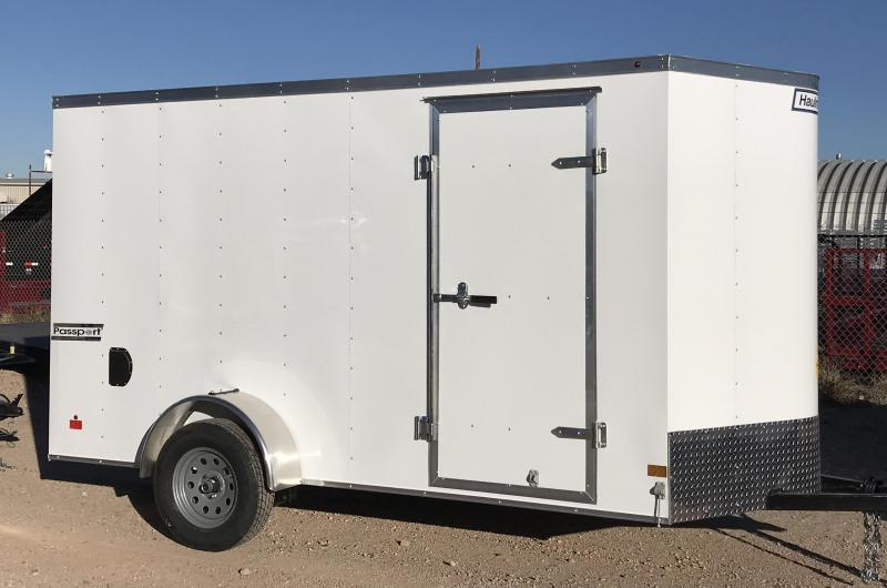 2019 Haulmark PP 6x12 S/A Enclosed Cargo Trailer
