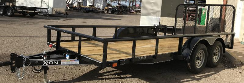 2019 X-On 83x16 T/A Utility Trailer