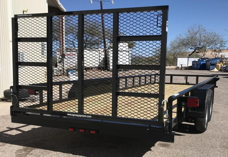 2019 Top Hat Trailers 83x22 XLP Utility Trailer
