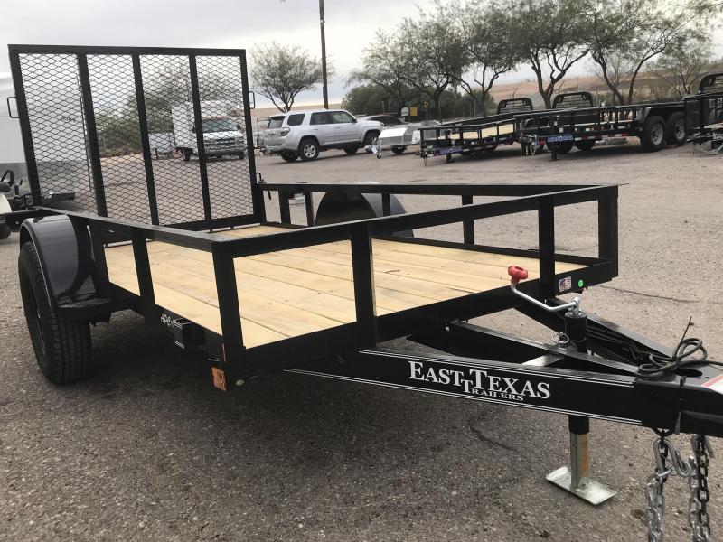 2018 East Texas 5x10 SA Utility Trailer