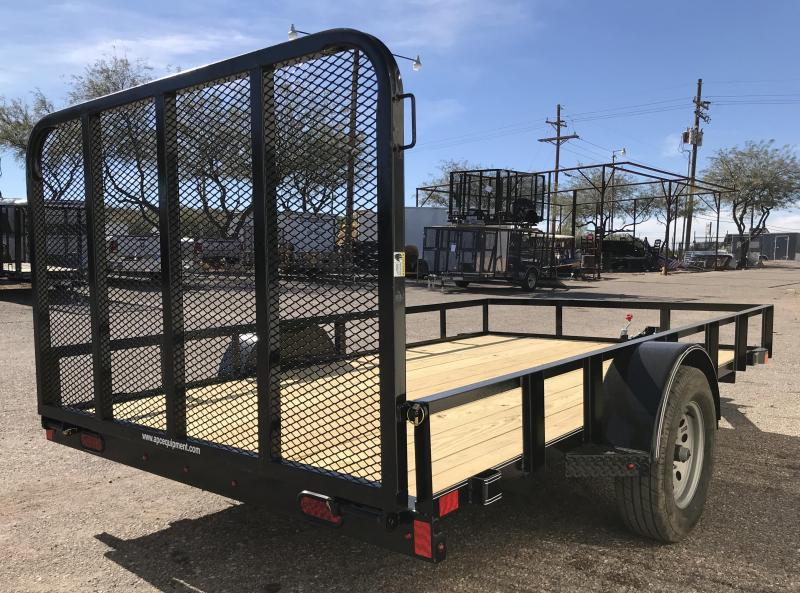 2019 X-On 77x12 S/A Utility Trailer