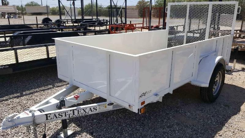 2017 East Texas 5x10 Landscape Utility Trailer
