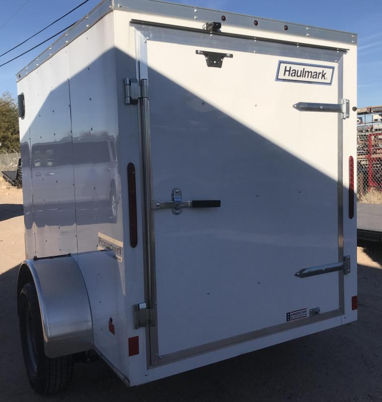 2019 Haulmark 5x8 PP Enclosed Cargo Trailer