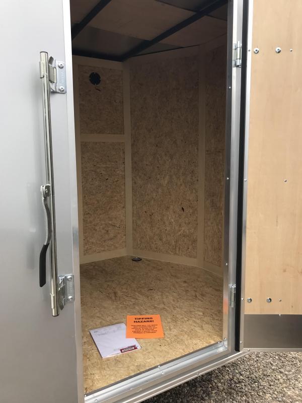 2019 Haulmark PP 6x10 S/A Enclosed Cargo Trailer
