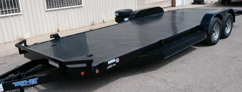 2019 Top Hat Trailers 83x22 ASCH Flatbed Trailer