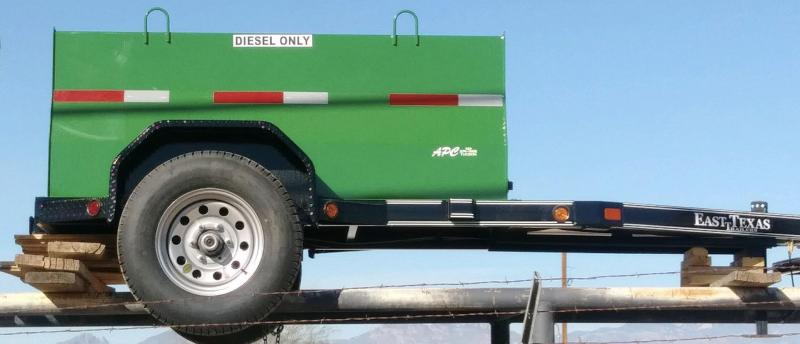 2018 East Texas 300 Gallon Fuel Utility Trailer