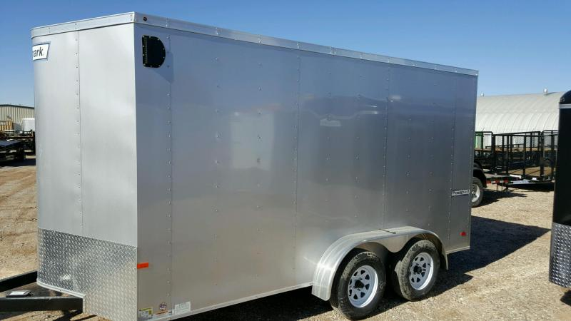 2018 Haulmark 7x16 Passport 7' Interior Enclosed Cargo Trailer