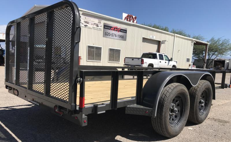 2018 X-On 77x14 T/A Utility Trailer