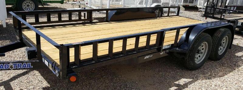2017 Load Trail 77x14 T/A Utility Trailer