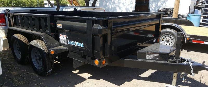 2018 Load Trail 83x10 7k Dump Trailer