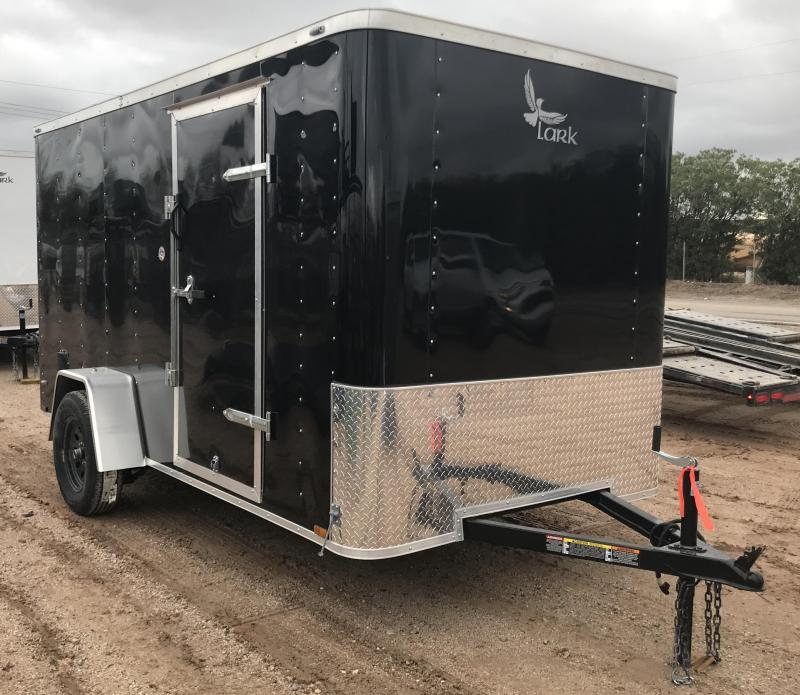 2019 Lark 6x12 VT Enclosed Cargo Trailer