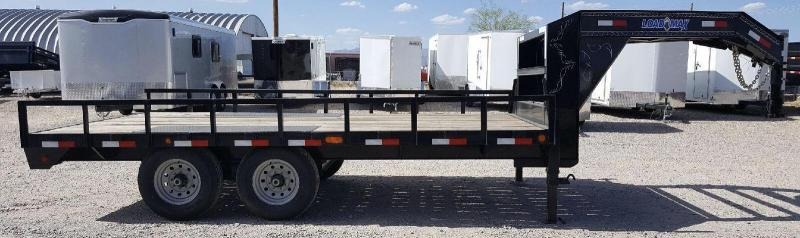 2017 Load Trail 102x16 14k Gooseneck Flatbed Trailer