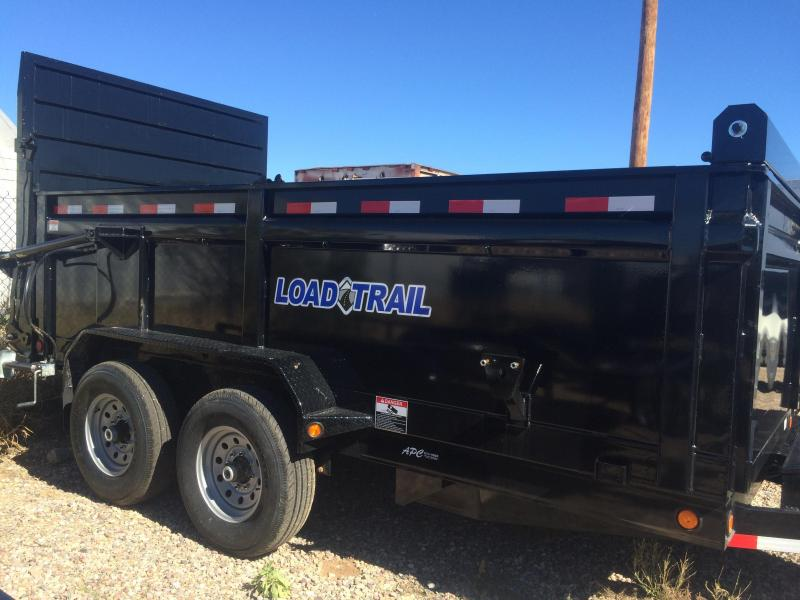 2017 Load Trail 83X14 14K Hydraulic Gate Dump Trailer