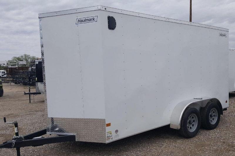 2018 Haulmark 7x14 VG3000 Enclosed Cargo Trailer