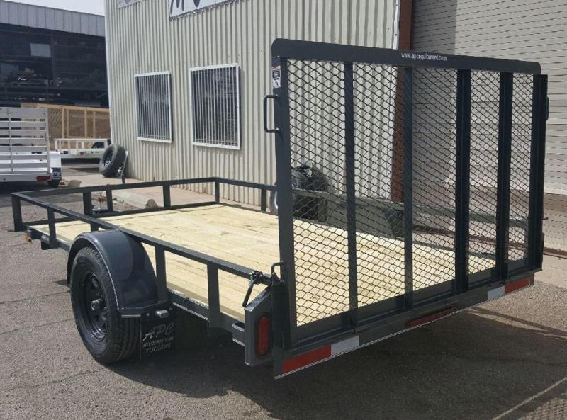 2018 East Texas 68x14 S/A Utility Trailer