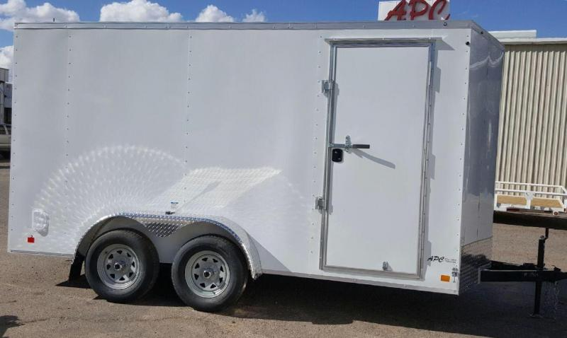 2018 Continental Cargo 7x14 LE Enclosed Cargo Trailer