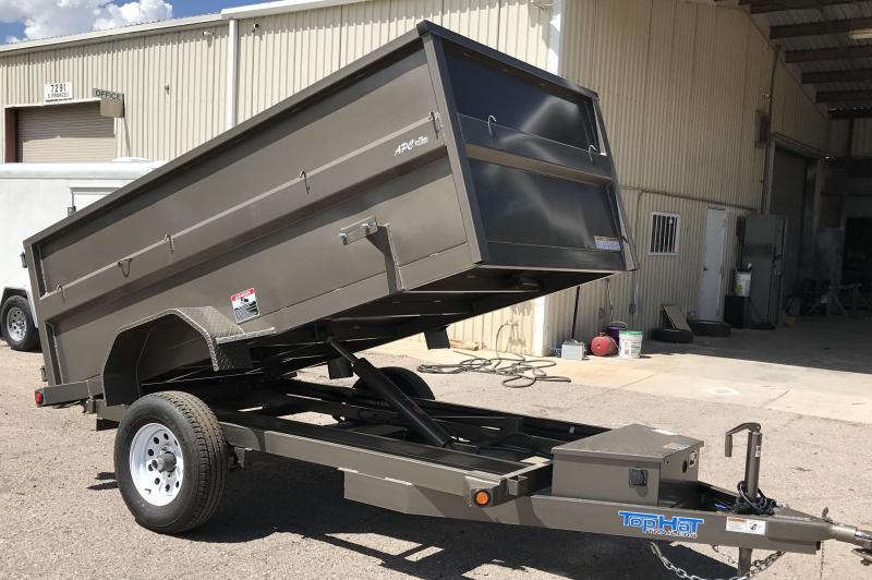 2018 Top Hat Trailers 5x10 S/A Dump Trailer