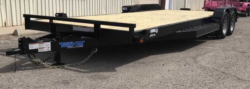 2019 Top Hat 83x22 DCH Flatbed Trailer